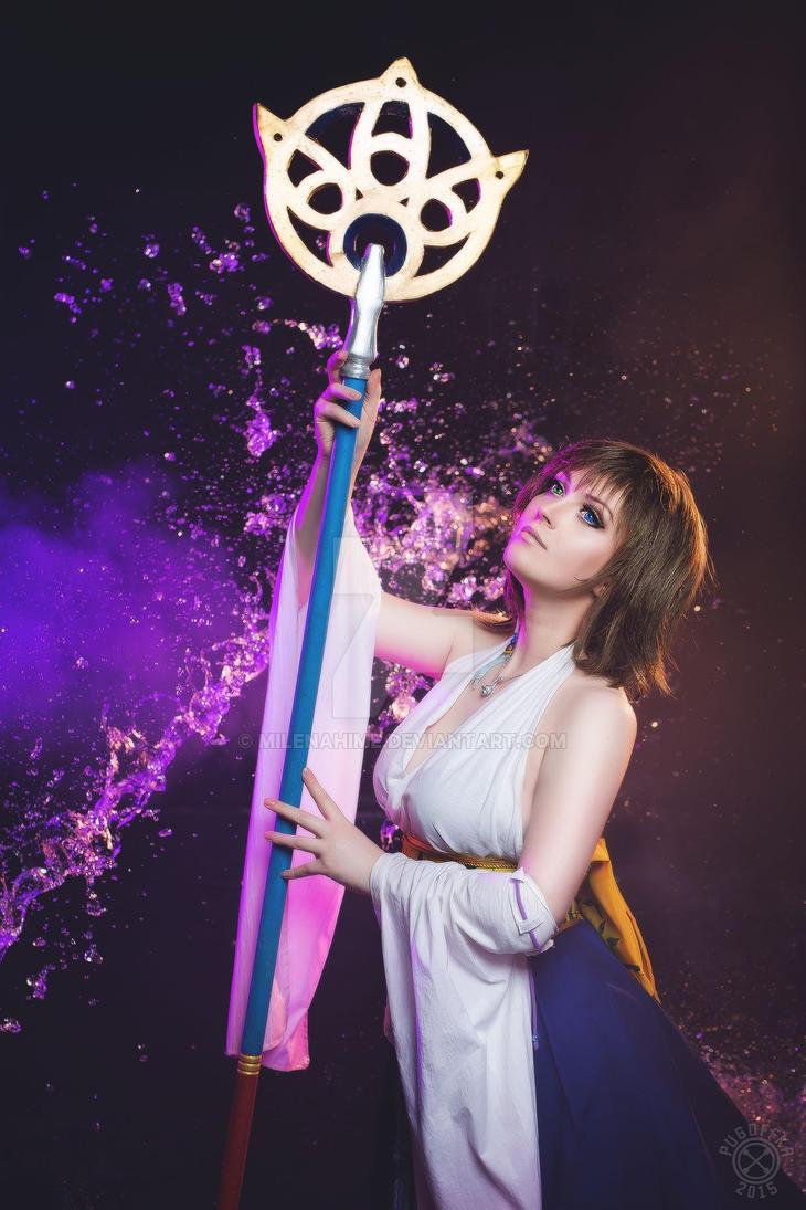 Yuna FFX by MilenaHime