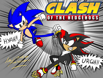 Art Study - Remake of 'Clash Of The Hedgehogs'