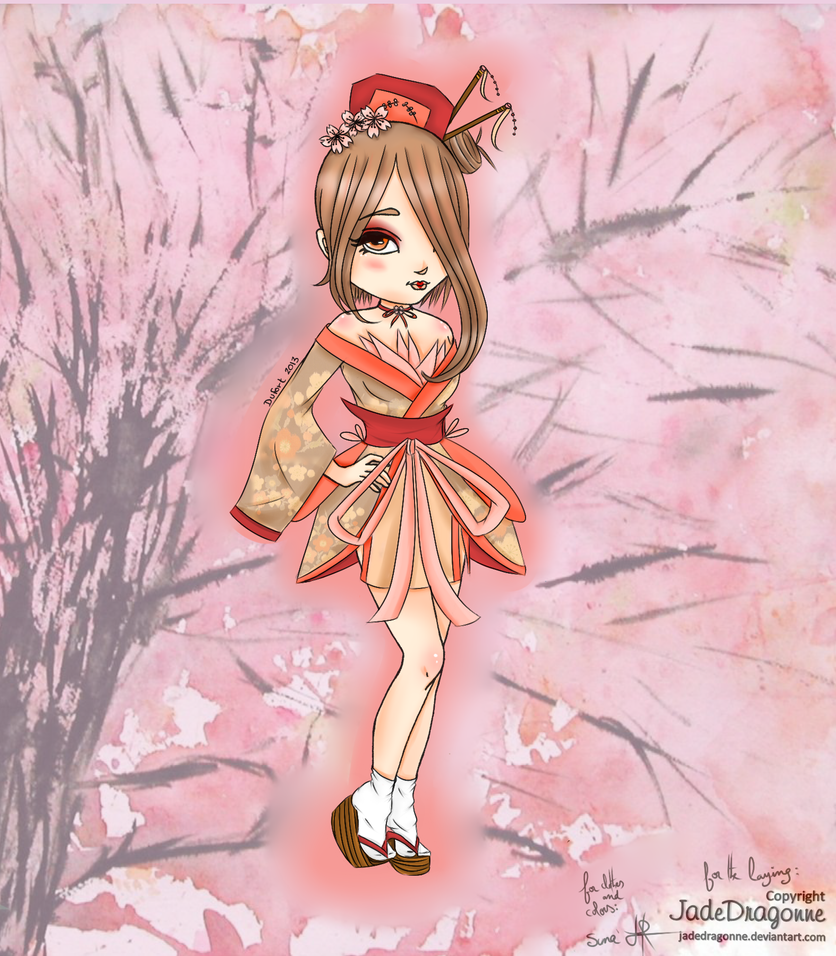 [Contest] Geisha in Spring by SunakoProduction