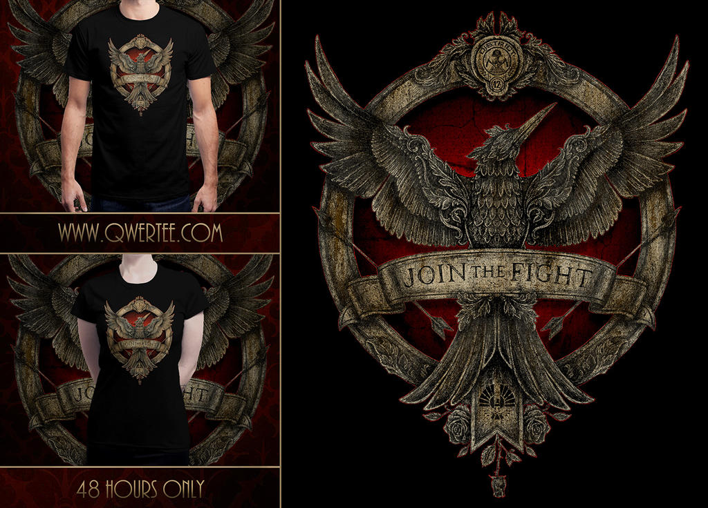 Join The Fight T-Shirt by Nocte-Angelus