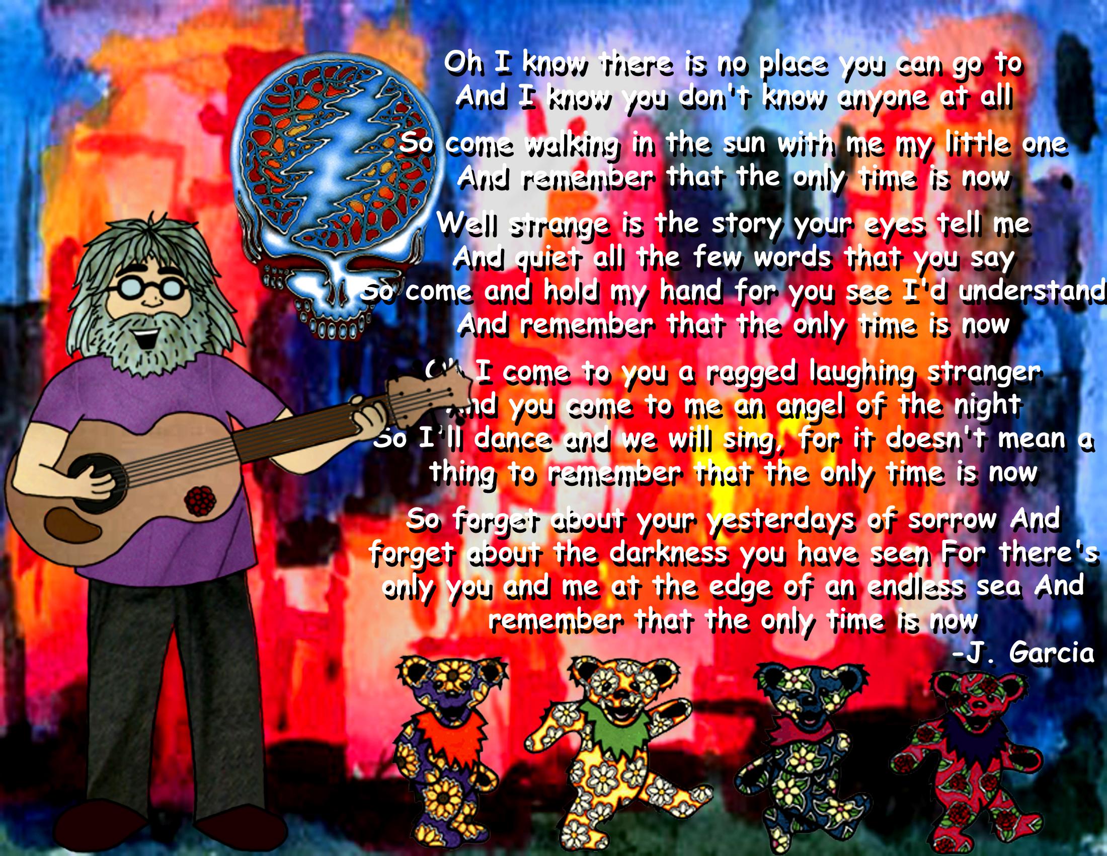Jerry Garcia By Spot80
