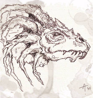 Dragon from the Tablet of DOOM