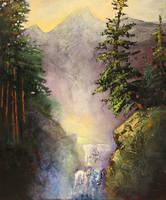 Rocky Mountain Mist by artistwilder