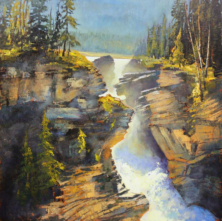 Athabasca by artistwilder
