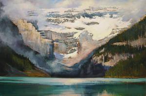Summer in Lake Louise by artistwilder