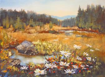 Bloom In The Marsh by artistwilder