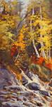 On Golden Creek by artistwilder