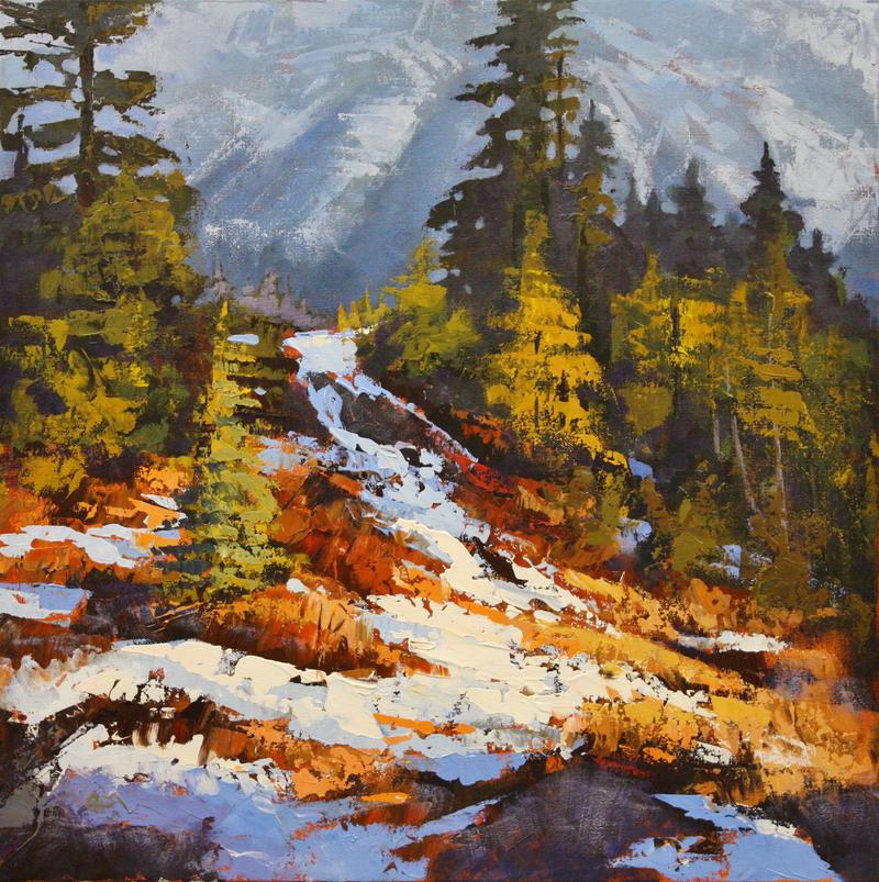 Winter Gold by artistwilder