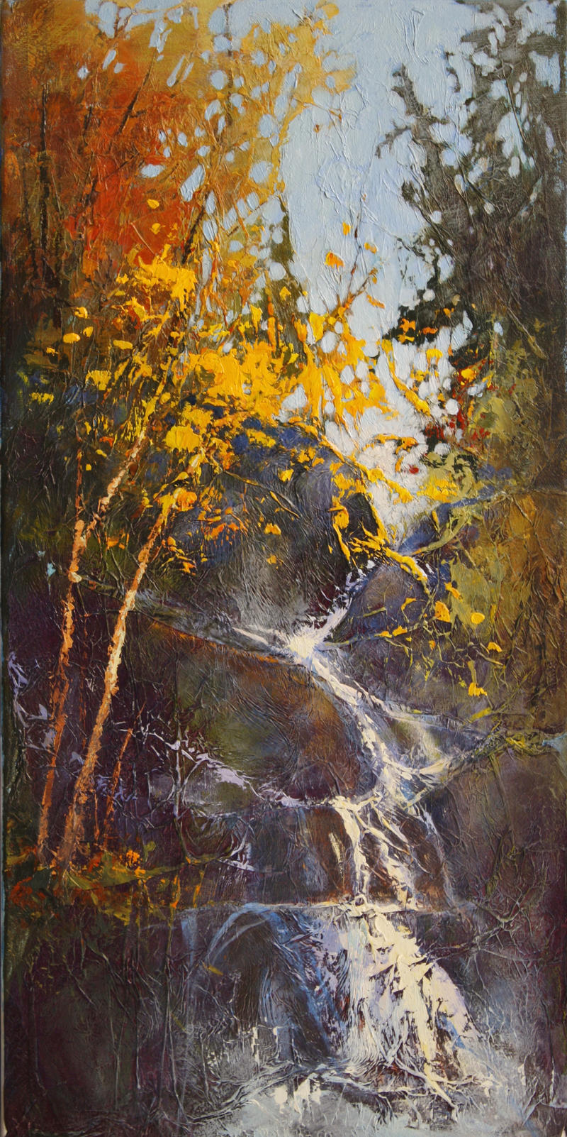 A Splash With Yellow by artistwilder