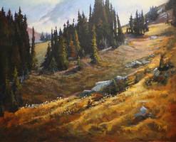 Meadow Hike by artistwilder