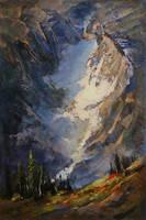Crevasse by artistwilder