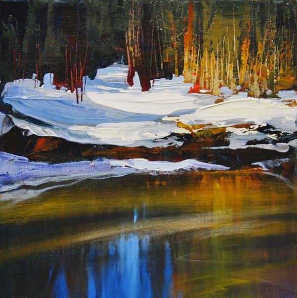 Griffth Woods Pond by artistwilder