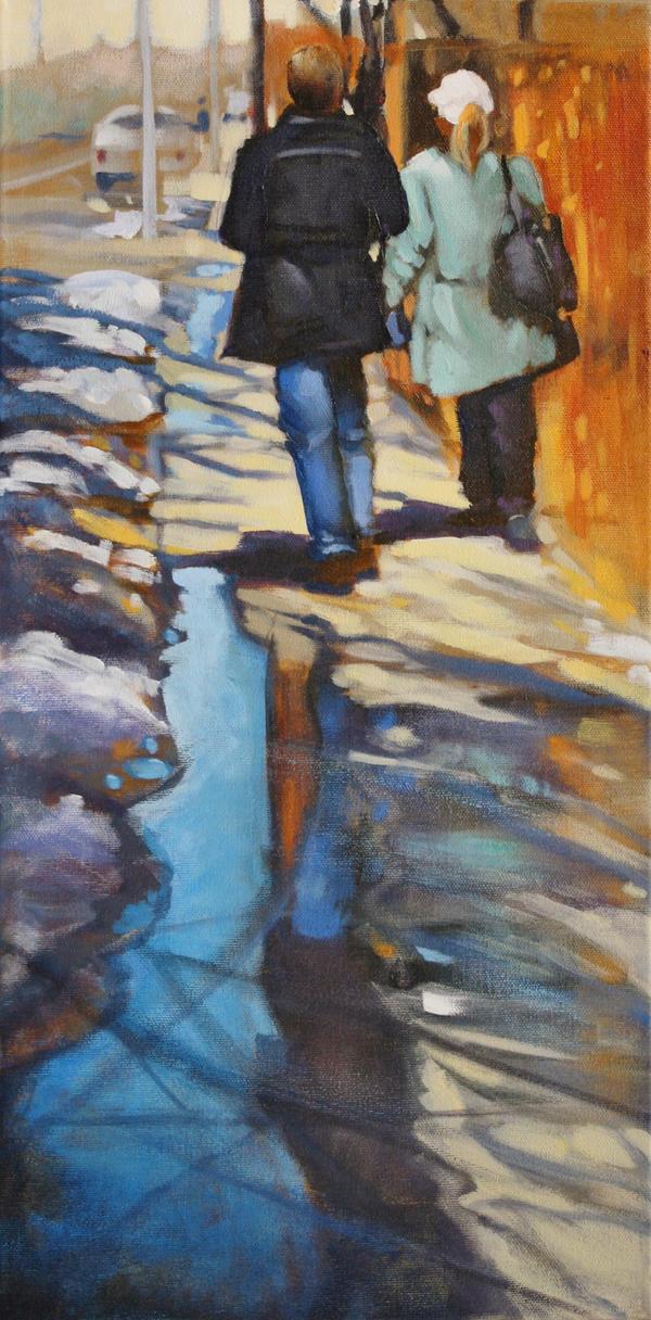 The Stroll by artistwilder