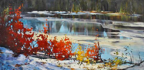 Icy Reds by artistwilder