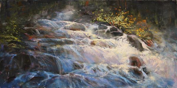 Hidden Falls Commission by artistwilder