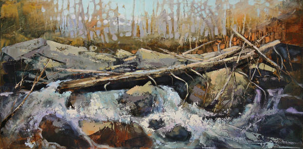 Foliage On The Creek by artistwilder