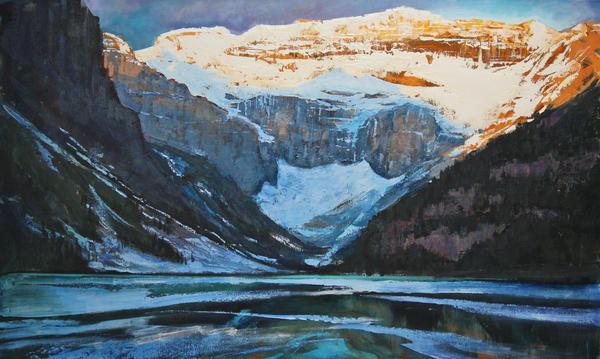 Lake Louise Rising by artistwilder