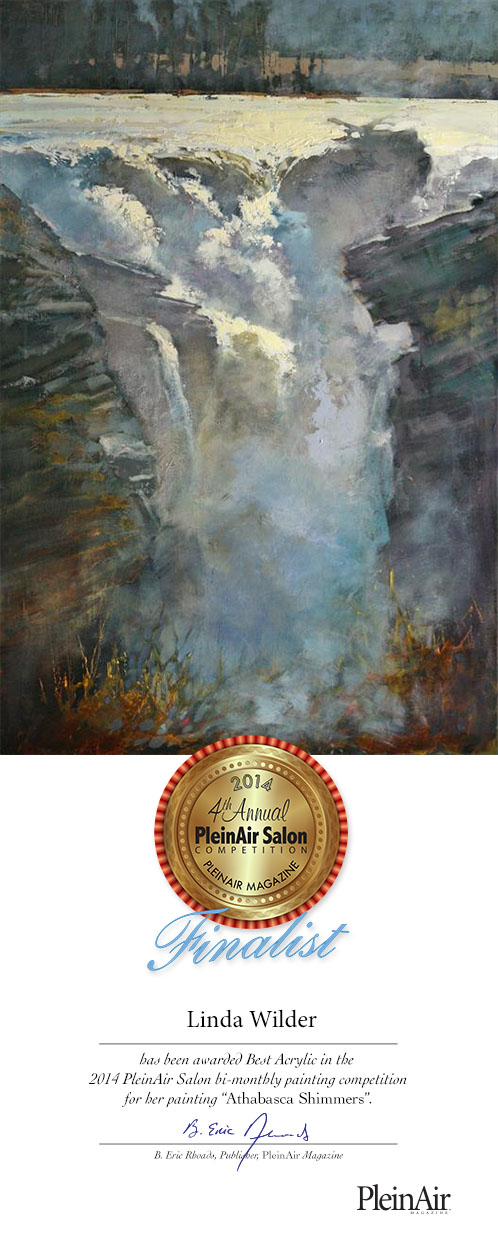 2014 OctNov-Plein Air Salon-Wilder-BestAcrylic by artistwilder