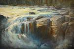 Sunwapta Rocks by artistwilder