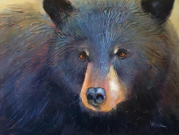Bearfaceded by artistwilder