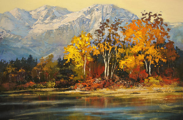 Rocky Mountain Autumn by artistwilder