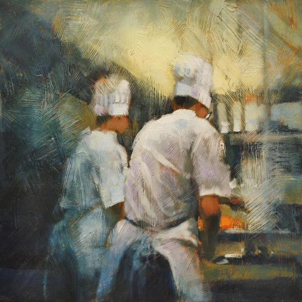 Dinner At Hardware Grill by artistwilder