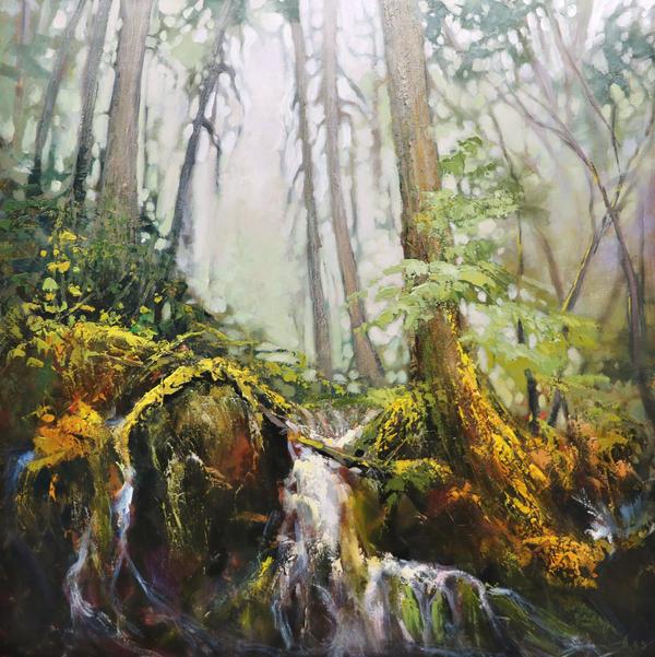 Old Forest by artistwilder