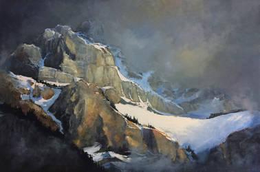 Top Of Cascade Mountain by artistwilder