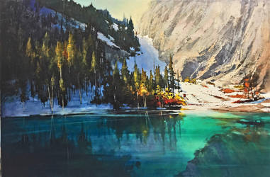 Grassi Lakes by artistwilder