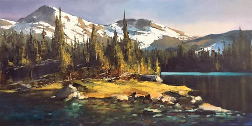 Moccasin Lake, Oregon
