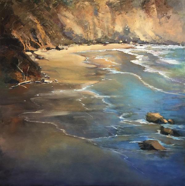 Coastal Shore by artistwilder