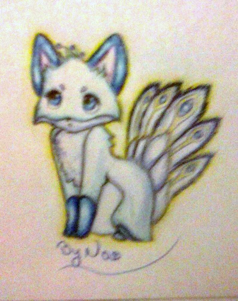 Magical fox by Sandrawinxbyalesita