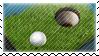 Golf Stamp by SNKGFX