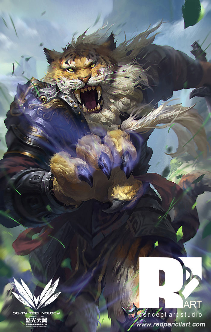 Tiger General by aldenliu