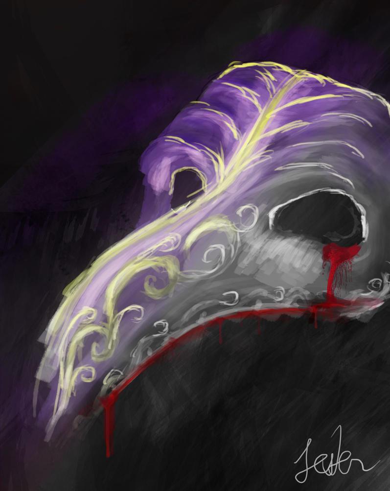 Den Blodig Maske by jesterjacks