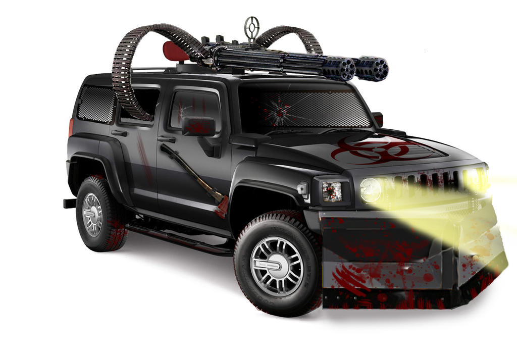 Zombie Survival Hummer by chaseseviltwin on DeviantArt