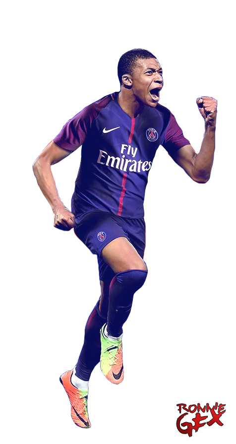 Kylian Mbappe - PSG by RonnieGFX on DeviantArt