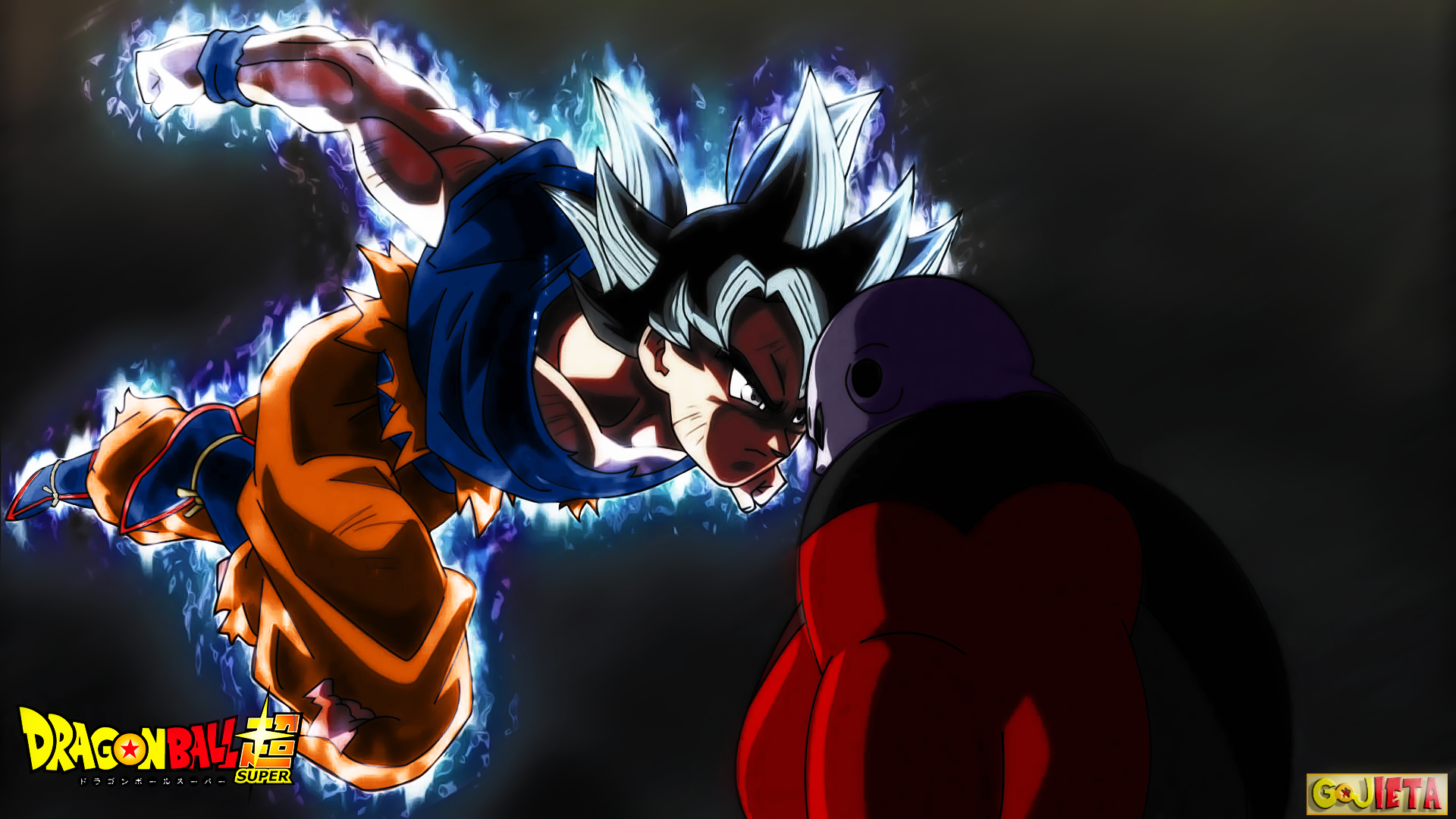 Dragon Ball Super Ultra Instinct Wallpaper: Dragon-Ball-Super Goku-Ultra-Instinct-vs-Jiren By