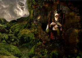 Steampunk Naturalist by MissGrib