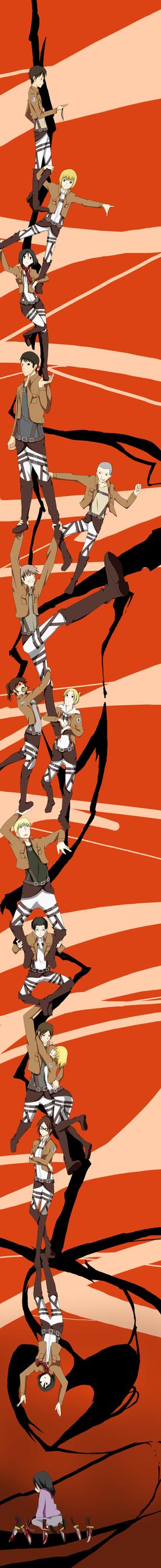 Shingeki no Kyojin x Durarara ED Ver. by Babero