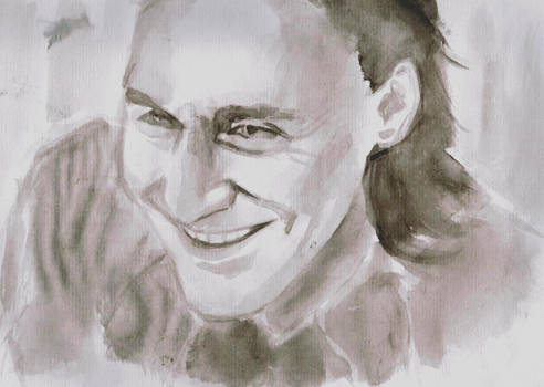 Loki - Ink Sketch