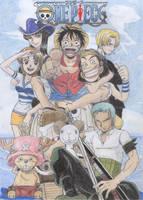 One Piece by Hitomura-Jiyuu