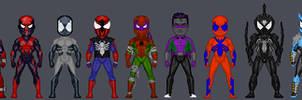 Spider-Man Redesign Micros