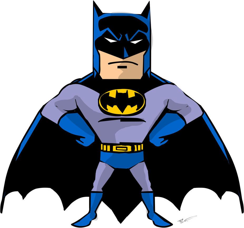 Batman Cartoon 2 by Orlock on DeviantArt