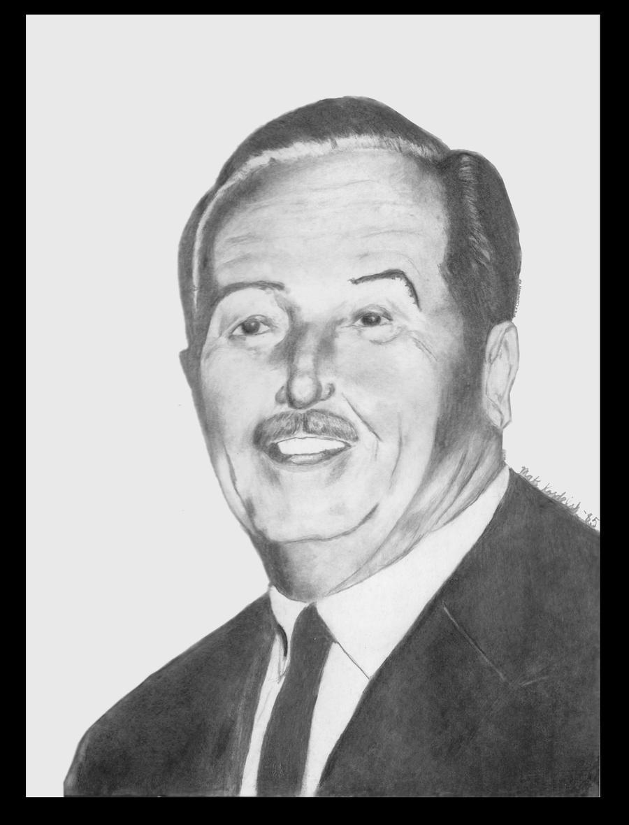 Walt Disney, Charcoal 1985