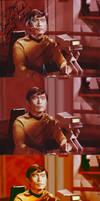 Sulu Photoshopped