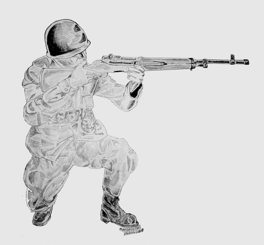 Kneeling Shooter
