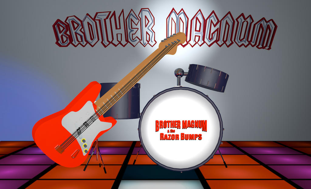Brother Magnum and the Razor Bumps, Medium Shot