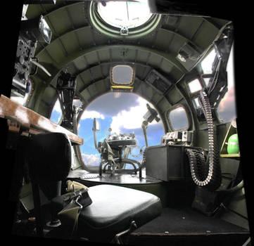 Bomber Cockpit by hairypolack