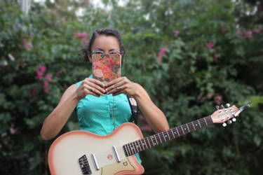 Mellisa and her notebook